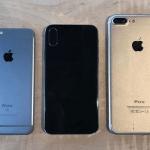 iPhone8 iPhonePlusの画像がリーク iPhone6s iPhone7Plusとの比較画像 縦型デュアルカメラ