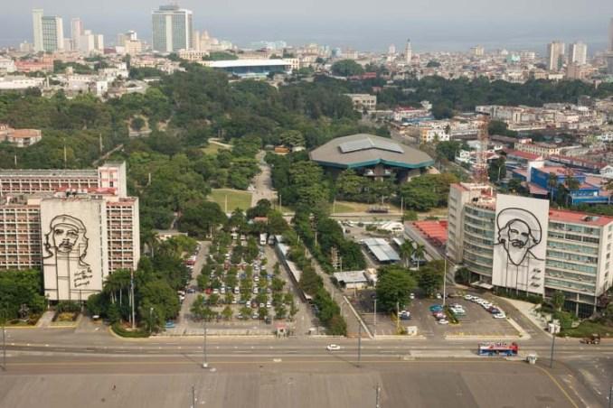 Eastern View of Havana from José Martí Memorial