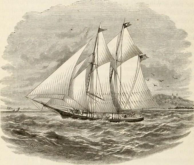 Sketch of Lumber Schooner [Public domain] lumber schooners