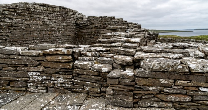 Image of Kolbein Hruga's Fortress, Wyre, Orkney