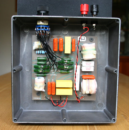 crossover wiring diagram speaker 2004 dodge dakota bbc ls3/5a information and external modification —