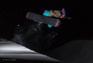 Night time pipe shoot with Katie Tsuyuki