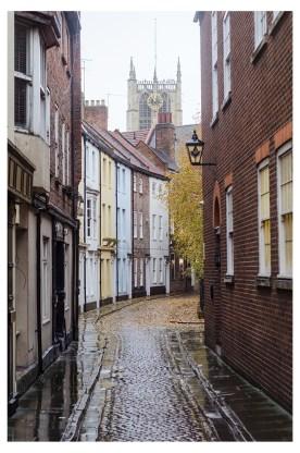 Prince Street in the Rain