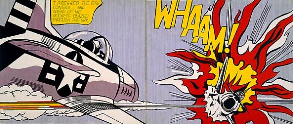 Whaaam 1962 - R. Lichtenstein