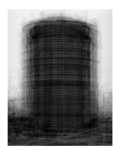 Idris Khan - Prison type gas holders