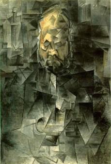 Picasso 'Portrait of Ambroise Vollard' 1910
