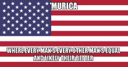 Meme Murica equality