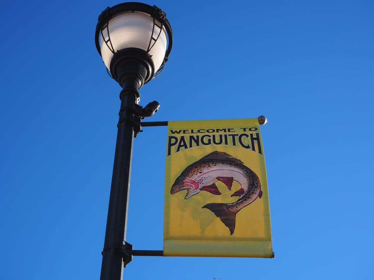 Panguitch, Utah town sign