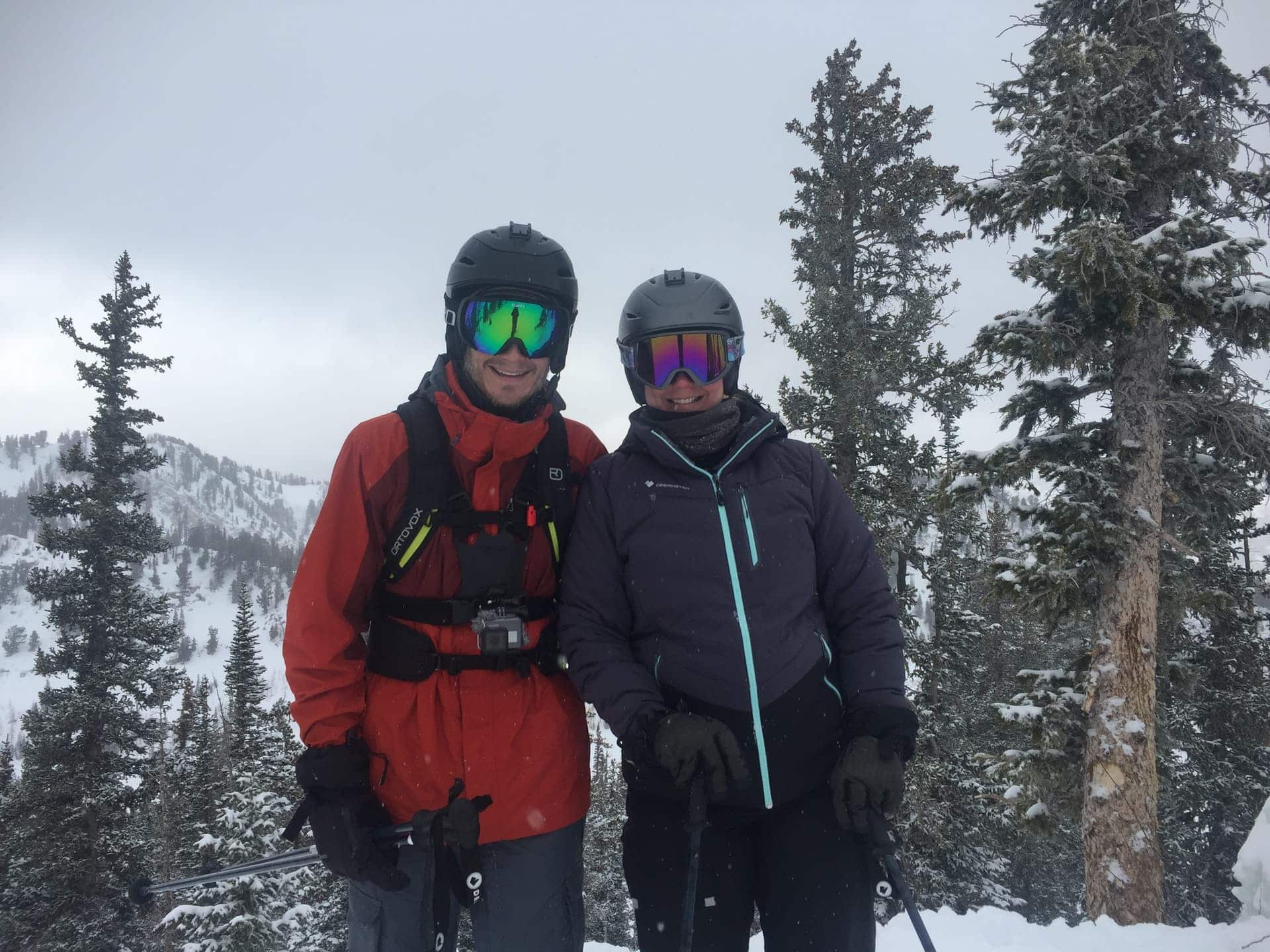 Christmas Day 2018 at Brighton Ski Resort in Utah