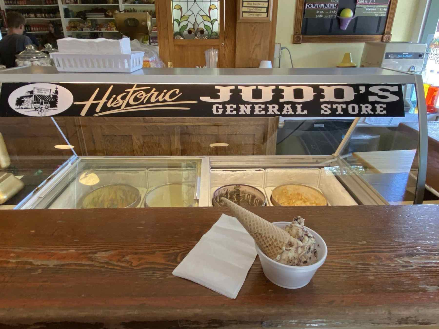 Hand dipped FARR ice cream made in Utah since 1929