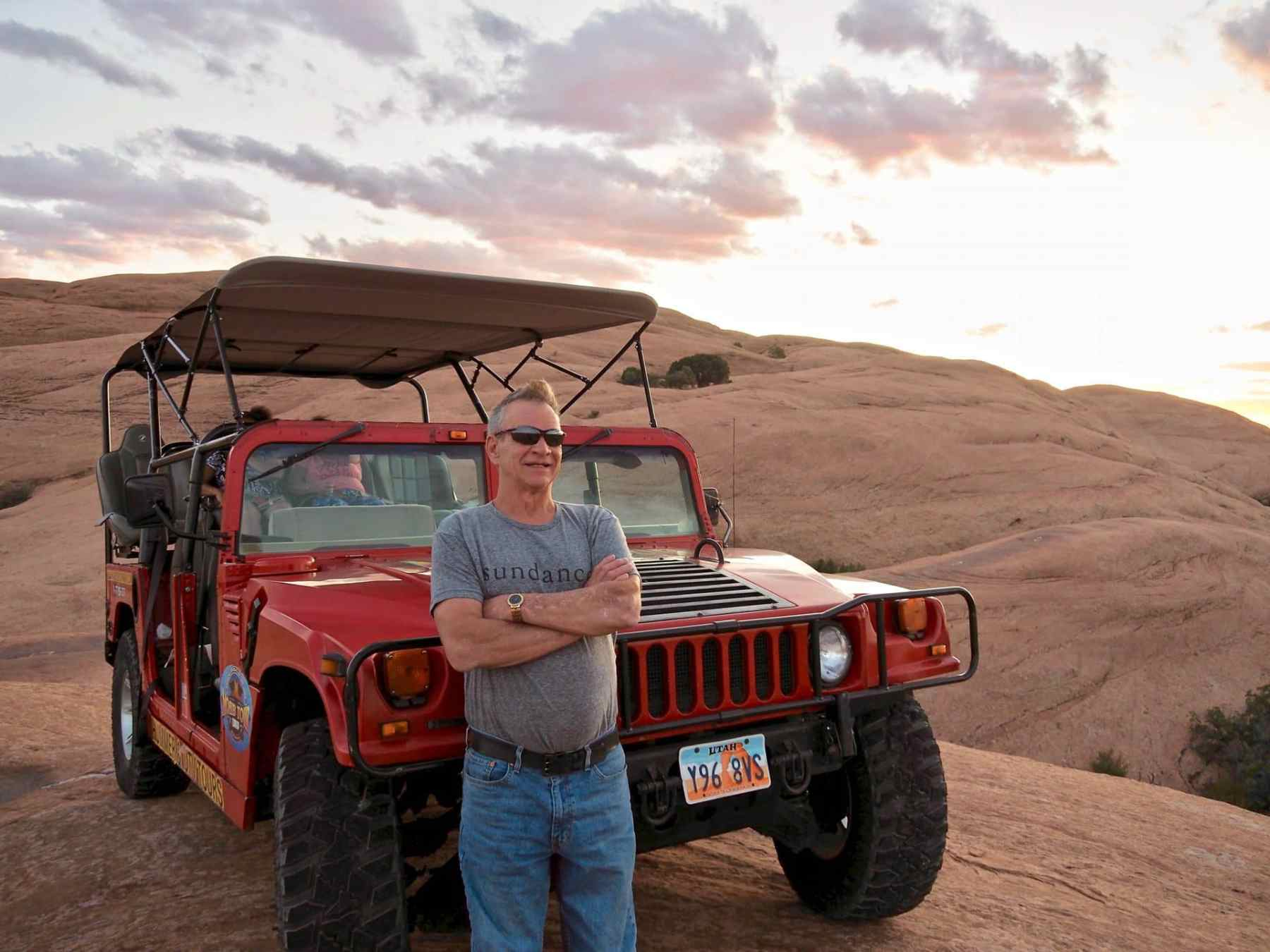 Sunset Tour with Moab Tour Company