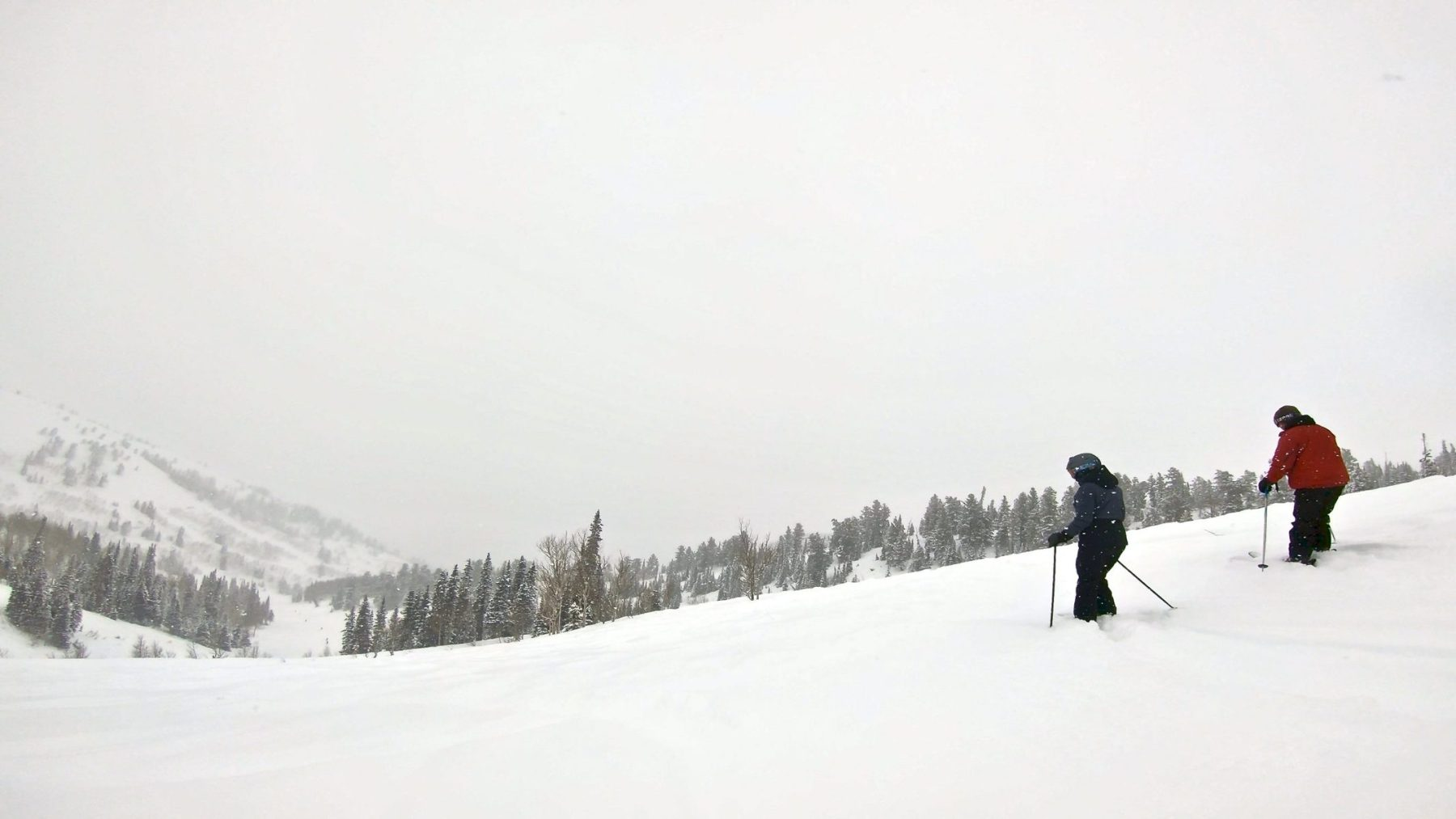 This is why they call it Pow Mow!  Look at how deep it is!
