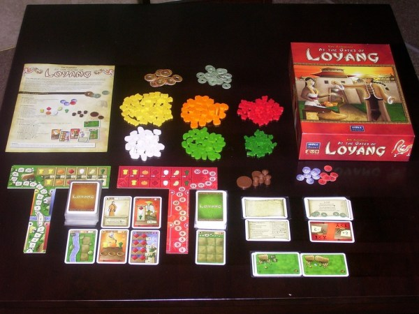 At the Gates of Loyang, a game by Uwe Rosenberg