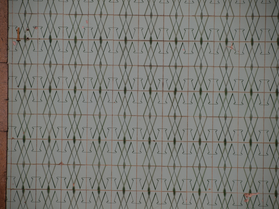 Mosaic Tiles in Oiã