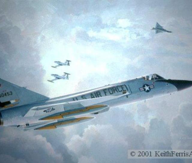 Farewell Old Friends Usaf Convair F 106a Delta Dart Fighter Usaf