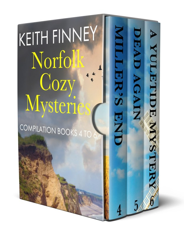 Norfolk Cozy Mysteries: Compilation Books 4 – 6