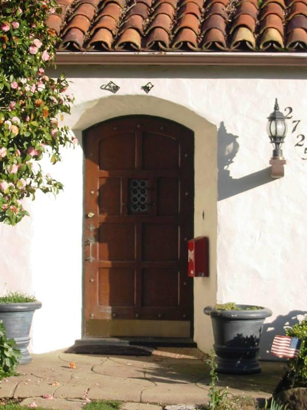 Spanish Front Door