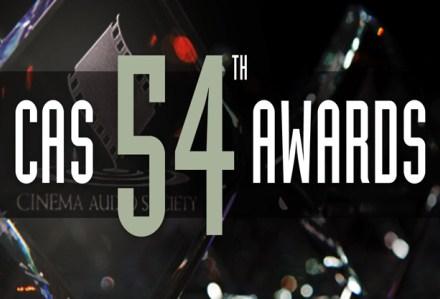 54th Annual CAS Awards Winners