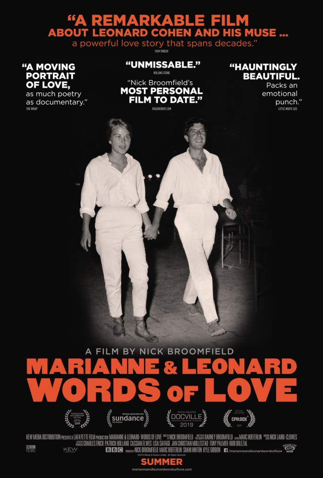 Marianne & Leonard: Words of Love – Still Your Man, But Not Your Doc