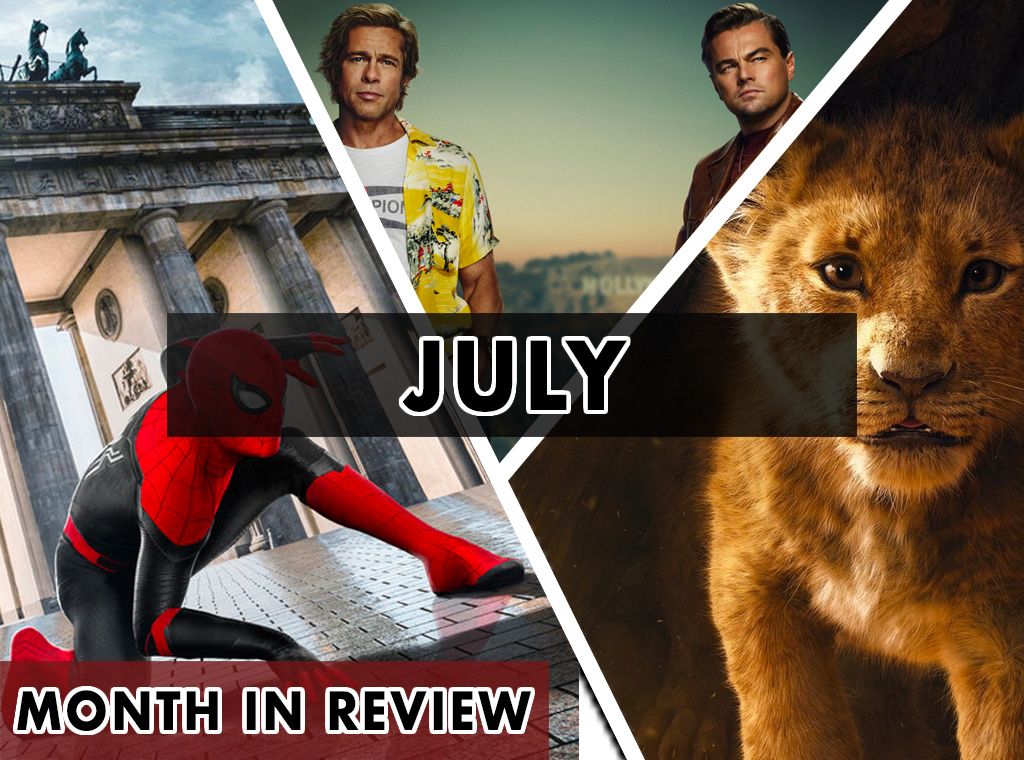 Month in Review (July 2019)