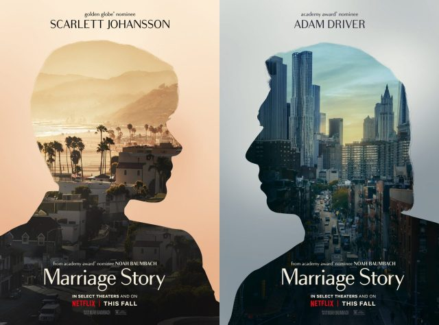Netflix's Marriage Story Official Companion Teaser Trailers and Posters