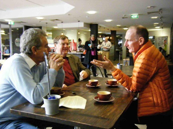 David Headon, Bruce Coe and Ross Gibson