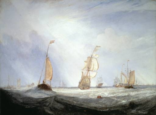 Helvoetsluys; - the City of Utrecht, 64, Going to Sea exhibited 1832 Joseph Mallord William Turner 1775-1851 Tokyo Fuji Art Museum http://www.tate.org.uk/art/work/TW0948
