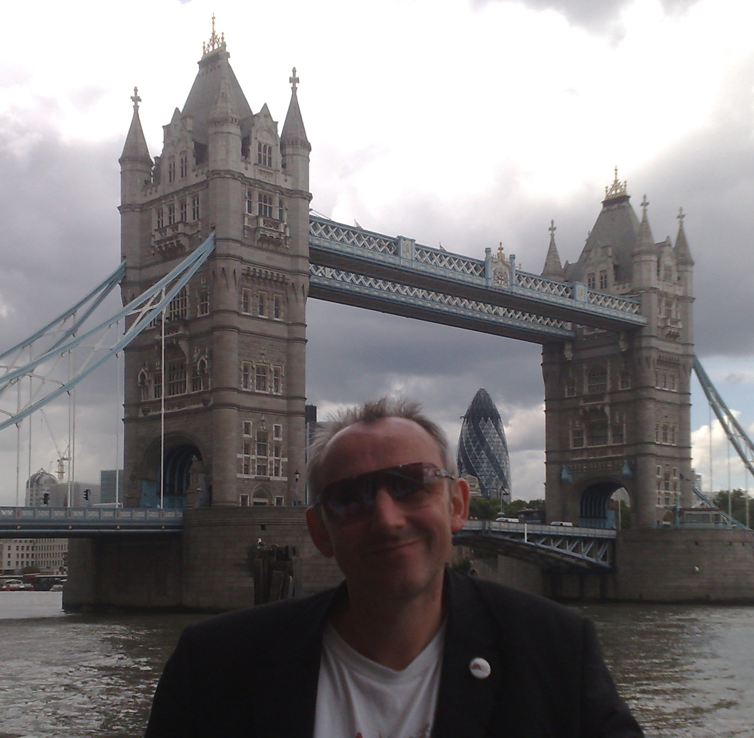 Keith Mansfield, Tower Bridge and the Spirit of London on publication day