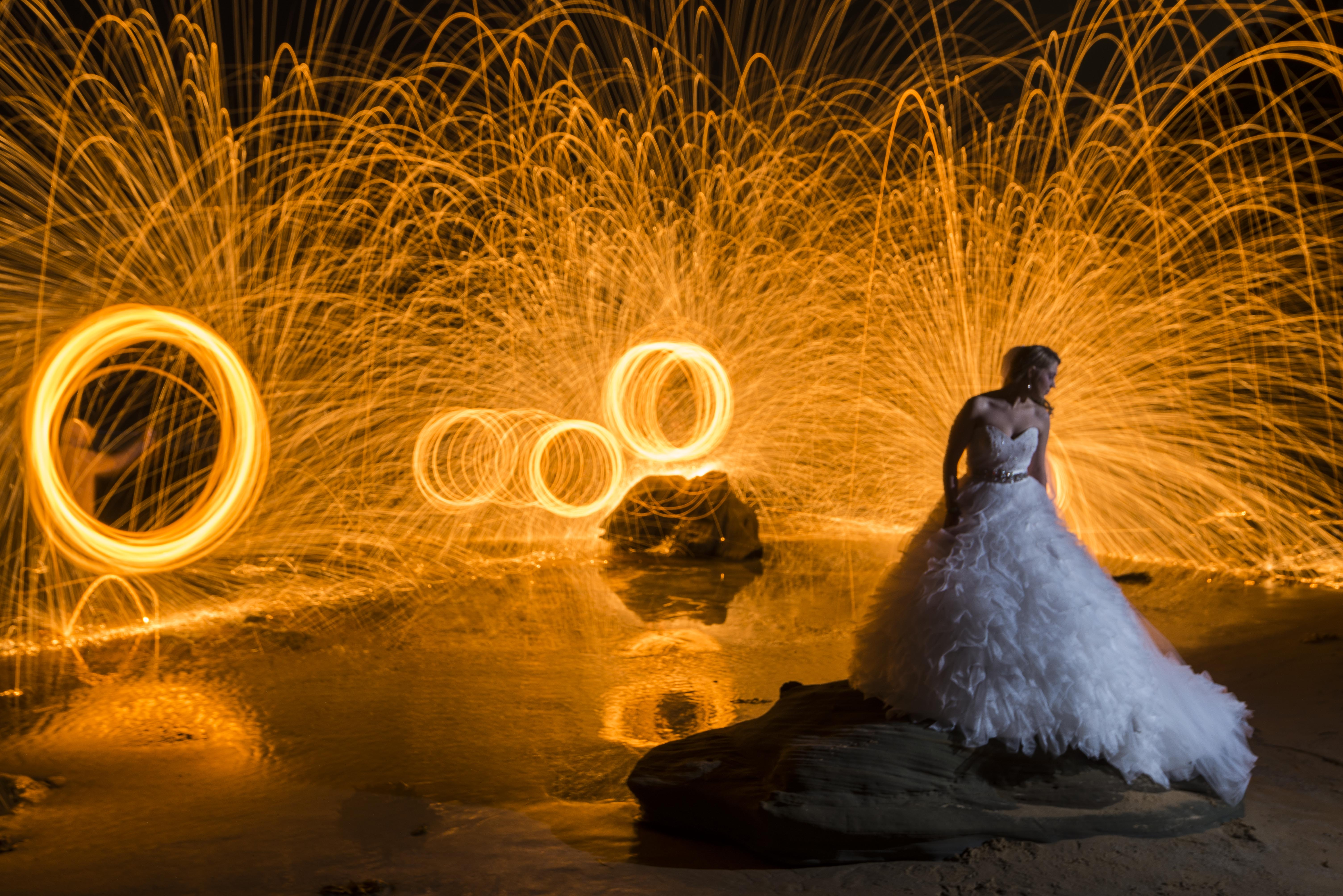 wire wool  Keith McInnes Photography