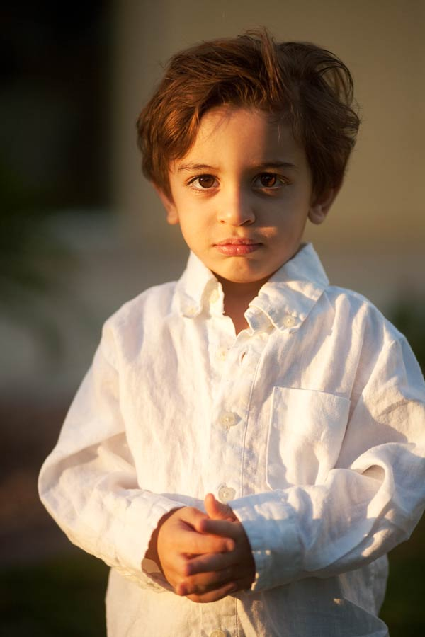 little boy with big, beautiful eyes
