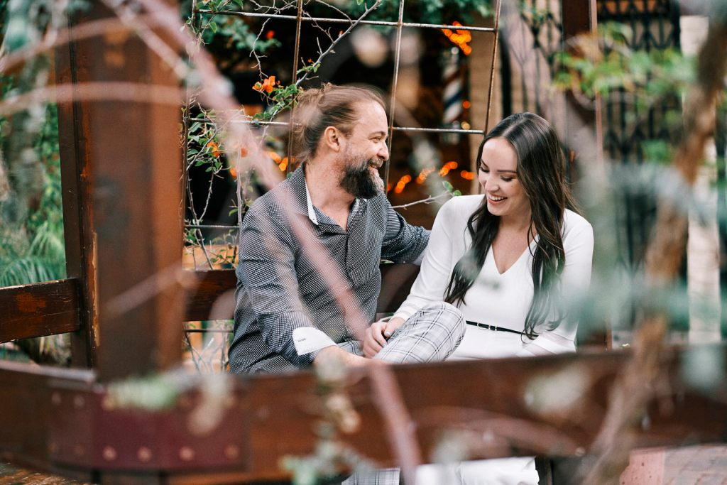 documentary style engagement session