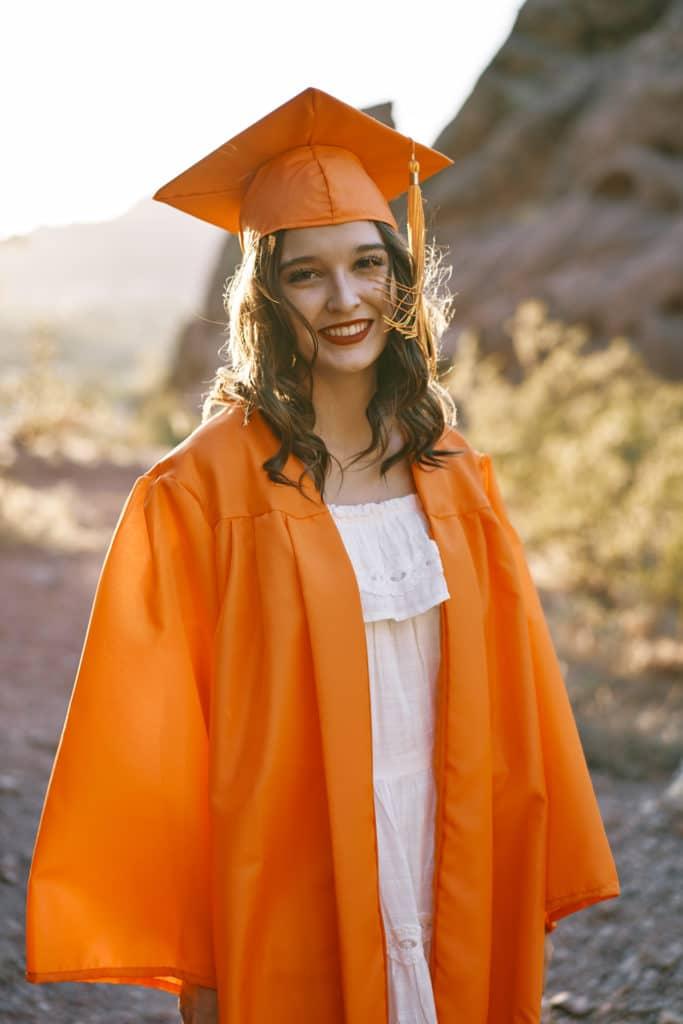 coronavirus graduation photo
