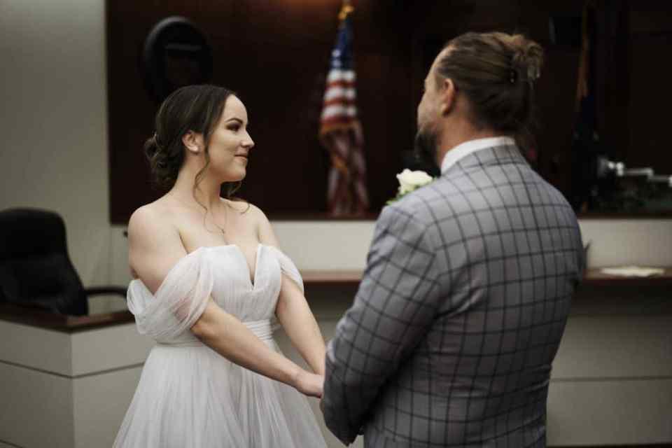 covid wedding ceremony