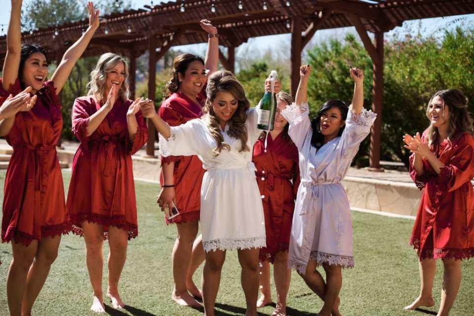bridesmaids four seasons