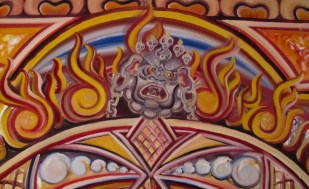 Mahakala - a manifestation of Shiva and often considered to be one of the Watchmen