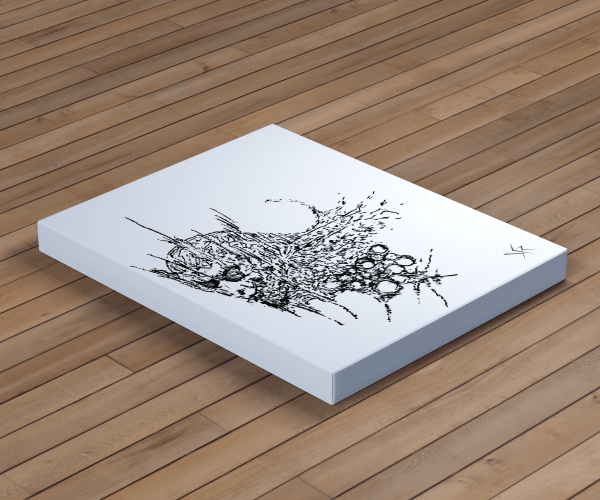 Visage SKR Canvas Print