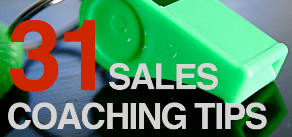 Become a better sales coach and sales manager today.