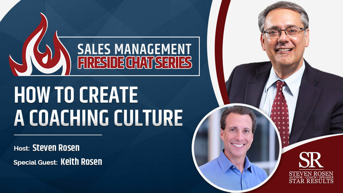Sales Management Fireside Chat – Interview – How to Create a Coaching Culture