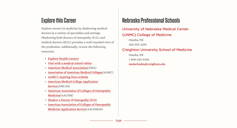 More info about Explore Center's Pre-Med program