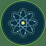 Badge icon for Explore Center's Pre-Radiation Science program