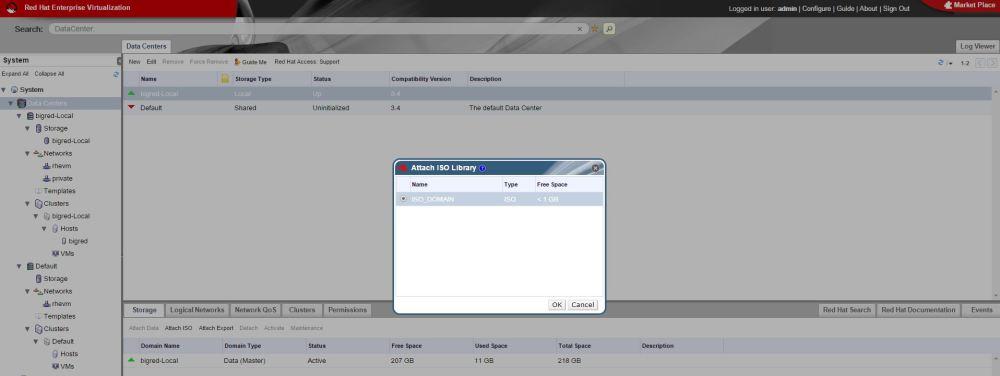 Red Hat Enterprise Virtualization (RHEV) Home Lab Configuration (6/6)