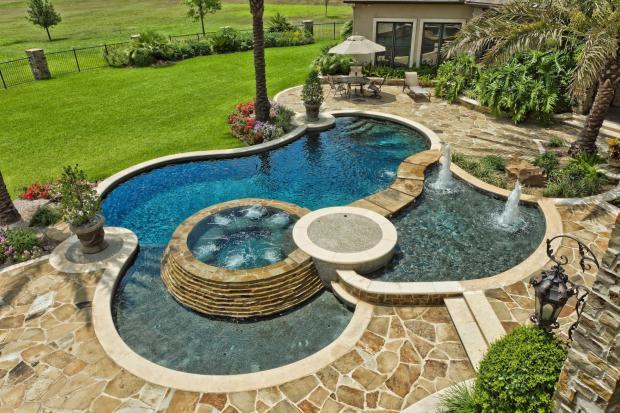 Unique Pool Design