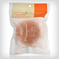Nature Republic 100% Natural Jelly Cleansing Puff - Red Clay