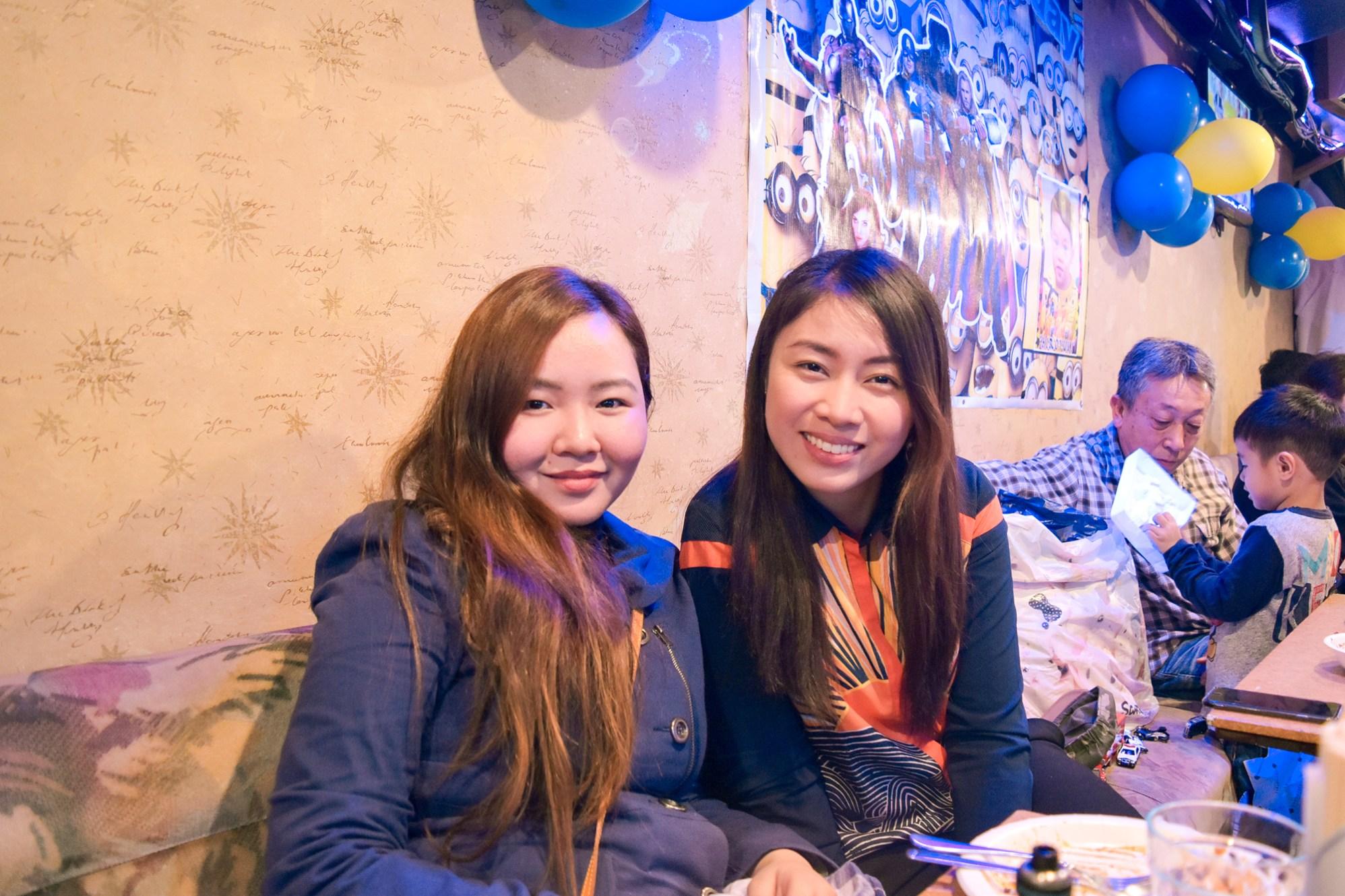 With my friend, Mariko