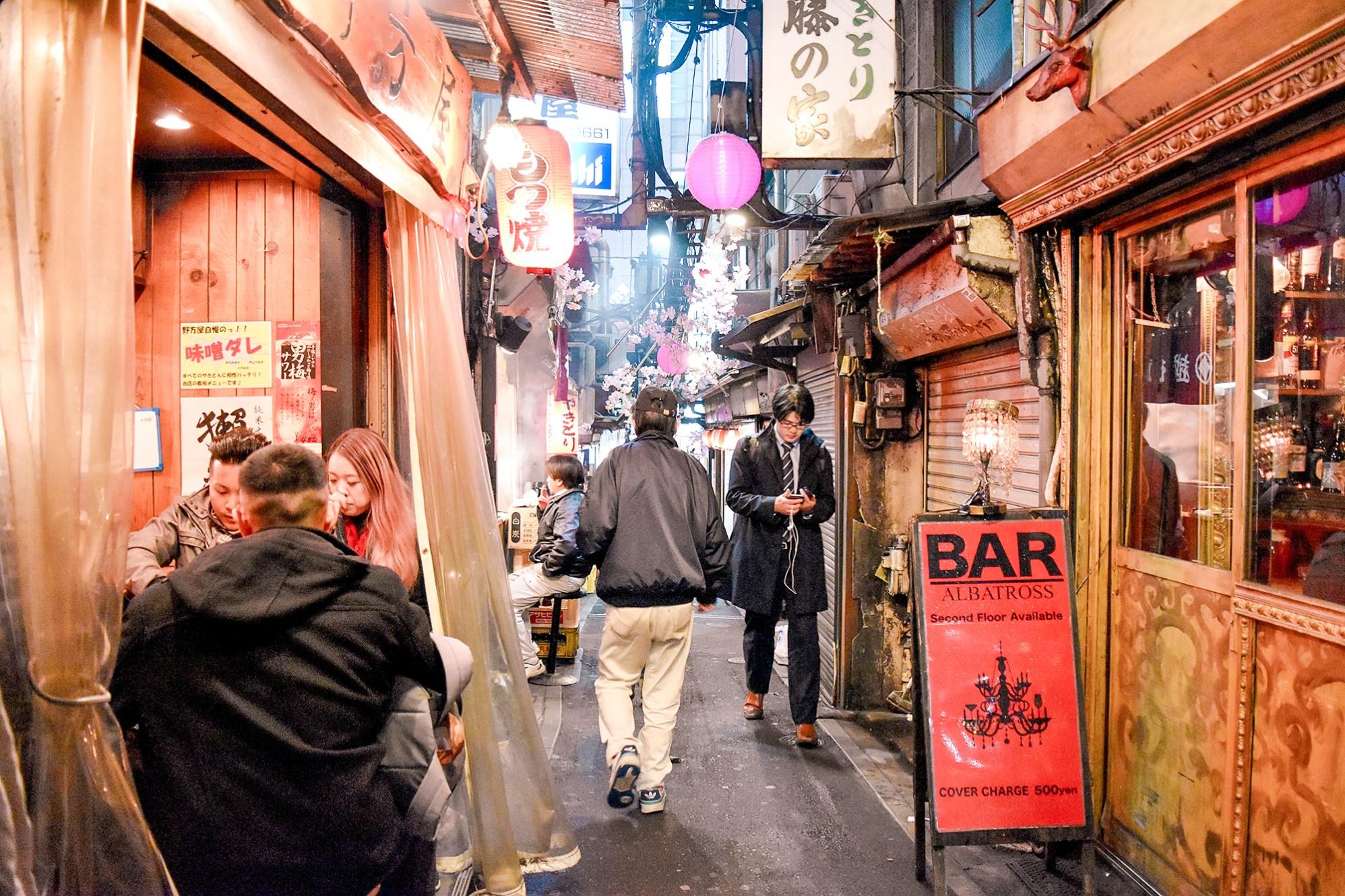 Shinjuku's Golden Gai