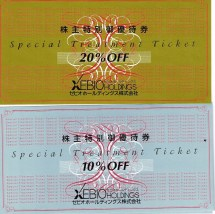 ゼビオホールディングス(8281)株主特別優待券