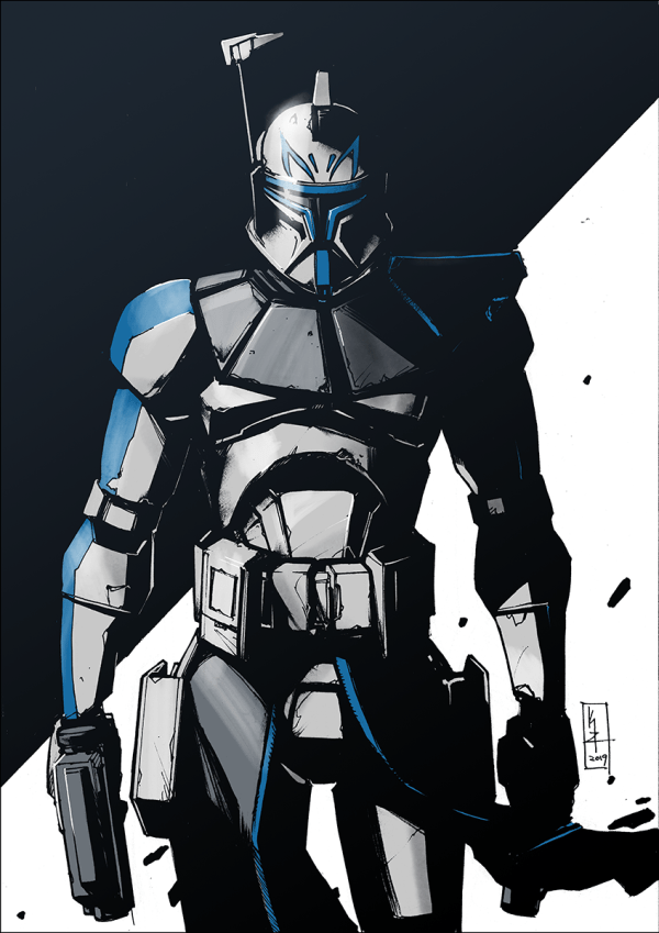 Captain Rex color