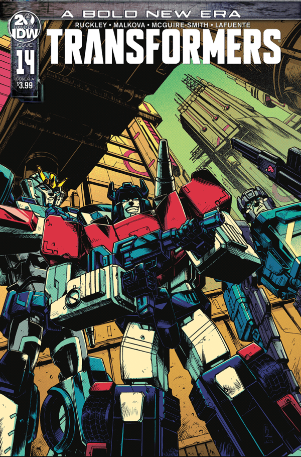 Transformers #14 cover color