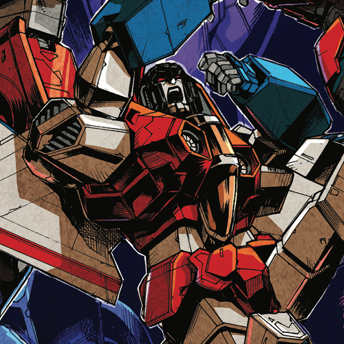 Optimus Prime #19 Cover