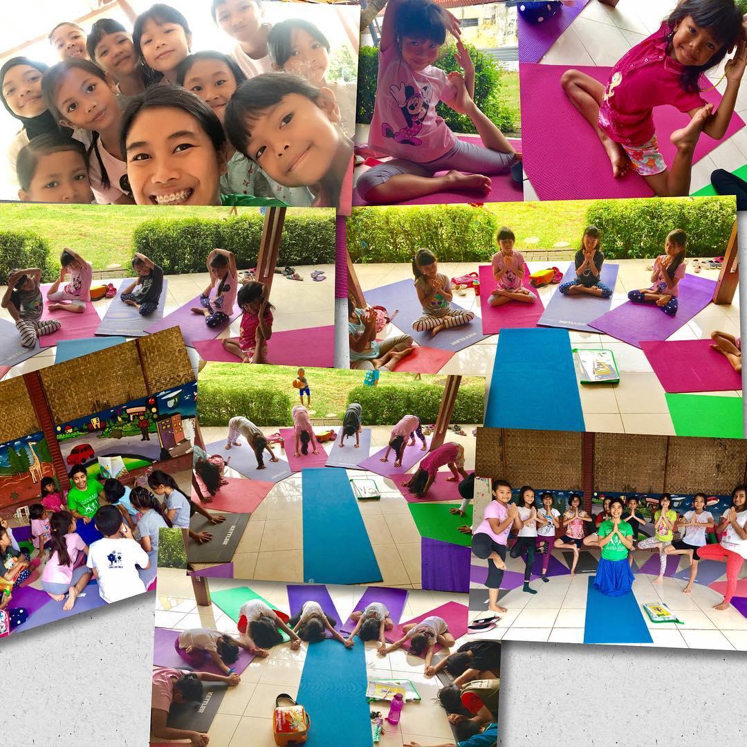 Manfaat yoga untuk anak-anak